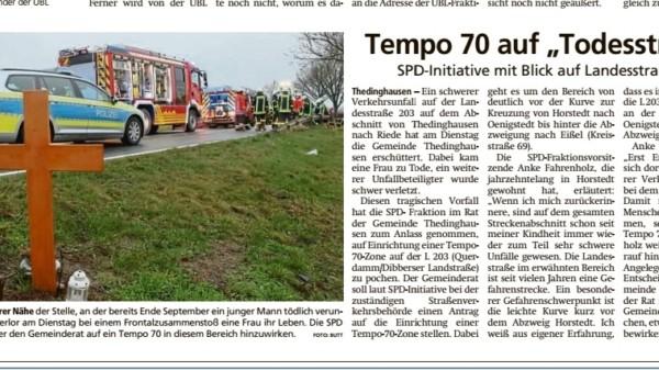 Bericht Thedinghäuser Zeitung 19.02.2021